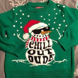 Excellent Christmas sweater size 5
